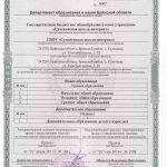 17 приложение к лицензии
